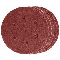 Dekton DT80708 5 Piece Hook & Loop Orbital Sanding Disc Fine Coarse 120 Grit