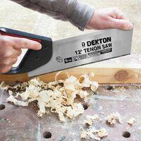 DEKTON DT45670 12 inch 8TPI Triple Ground Hard Point Tenon Saw