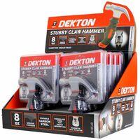 DEKTON Power DT10110 Stubby Claw Hammer 8OZ