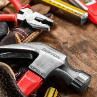 DEKTON DT10128 Fiberglass Claw Hammer 8OZ