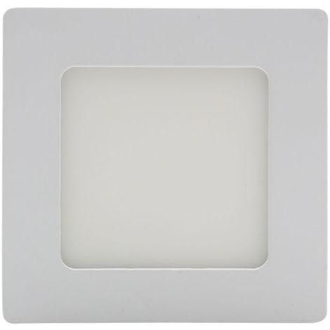 Plafon led cuadrado 6w 6000k blanco frio