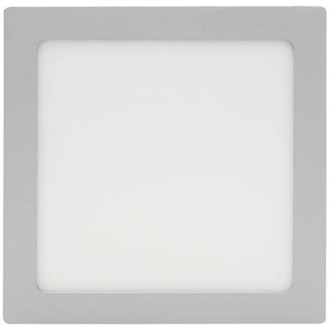Plafon led cuadrado 18w 6000k blanco frio