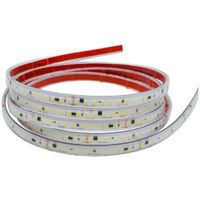 Tira led 220v 2835 ip65 120 ch 17w/m corte 10cm 6000k blanco frio 1 metro