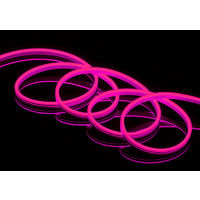 Tira led neon 12v 9w/m 600lm/m mx rosa