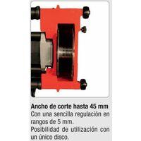 Rozadora Acaladora de Discos 1.800 W. Ancho 1/45 mm.