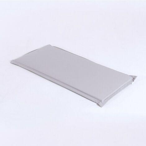 Coussin de banc d'extérieur standard couleur de la pierre | Dimensions: 110x49x5 cm | Résistant aux gouttes d'eau  - Pierre