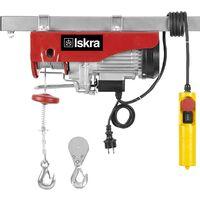 Paranco elettrico con carrucola 250-500kg 6-12m ISKRA EV-250-500 1000W