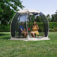 Alvantor Tente de Jardin, Moustiquaire Tonnelle de Réception pour 4-6 Personnes, Pliable Pavillon Tente d'extérieur, Protection UV, pour Fête Camping Jardin Plage