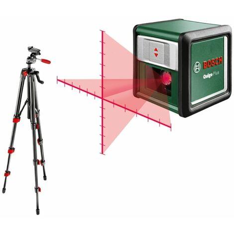 Bosch Laser a linee incrociate da 7 metri Quigo Plus incl. treppiede