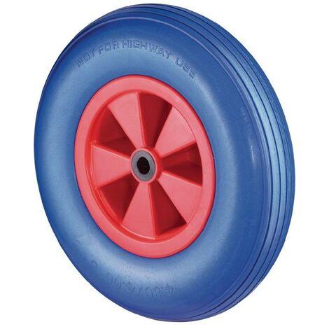 BS Rollen Roue en polyuréthane D. de la roue 260 mm cap. charge 160 kg plastique antipanne rainuré