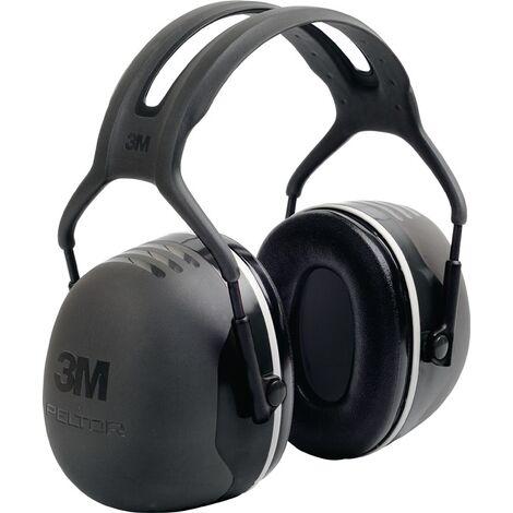 3M Protection auditive X5A EN 352-1 SNR 37 dB grandes capsules