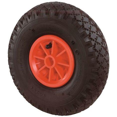 BS Rollen Roue gonflable D. de la roue 260 mm cap. charge 100 kg roue de rechange profil cranté palier lisse