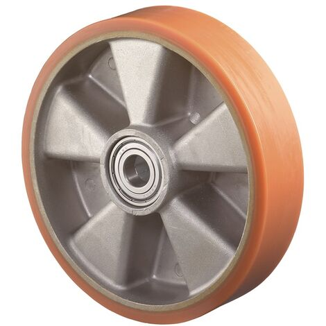 BS Rollen Roue de rechange D. de la roue 150 mm cap. charge 550 kg bandage en polyuréthane moulé D. d'axe 20 mm longueur du moyeu 60 mm