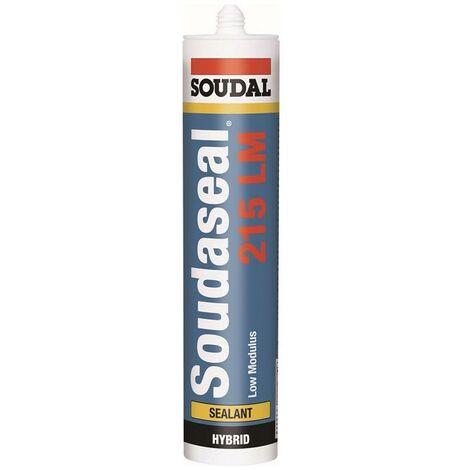 SOUDAL Enduit d'étanchéité polymère hybride SOUDASEAL 215 LM blanc 290 ml
