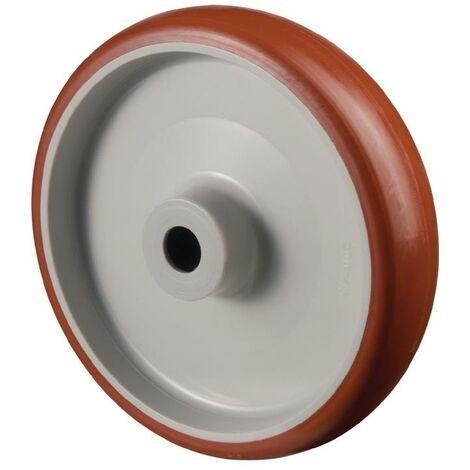 BS Rollen Roue de rechange pour A30 D. de la roue 150 mm cap. charge 240 kg polyuréthane D. d'axe 15 mm longueur du moyeu 44 mm
