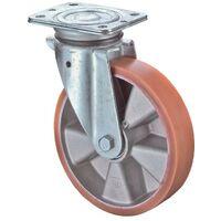 BS Rollen Rouleau de renvoi D. de la roue 150 mm cap. charge 250 kg avec plaque de fixation bandage en polyuréthane moulé
