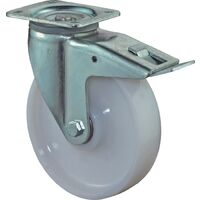 BS Rollen Roulette pivotante de charge lourde D. de la roue 150 mm cap. charge 700 kg avec bloqueur plastique plaque L135xl110 mm