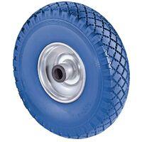 BS Rollen Roue en polyuréthane D. de la roue 260 mm cap. charge 160 kg jante antipanne en acier rainuré