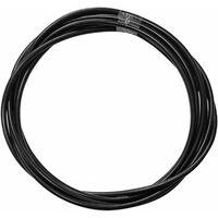 Gaine de câble acier universelle noir diamètre 5mm longueur 3m avec insert plastique protection frein gaz embrayage