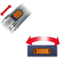 BLUE RIDGE 18V Outil Multifonction Oscillant sans Fil, avec 20pcs Accessoires, 6 vitesses Variables 5000-20000/min pour Découpure Sciage Ponçage Raclage, Sac à Outils Inclus, BR2818K