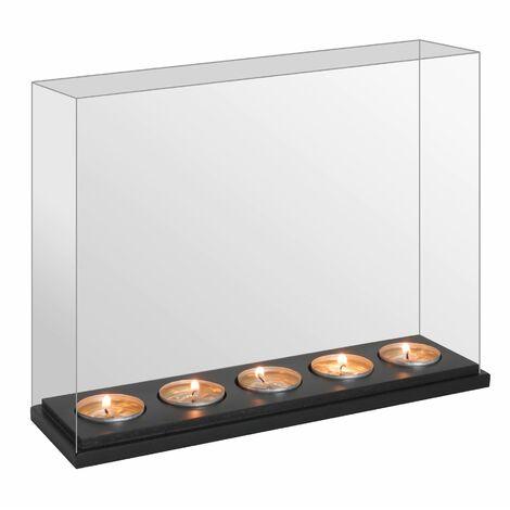 M&W Infinity Mirror Tealight Candle Box