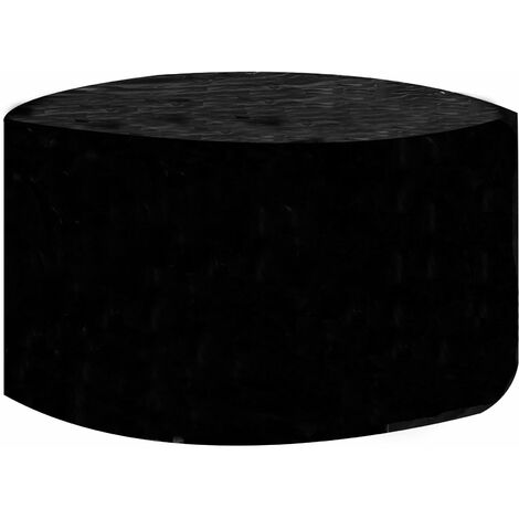 Garden Furniture Cover Round | M&W - Black