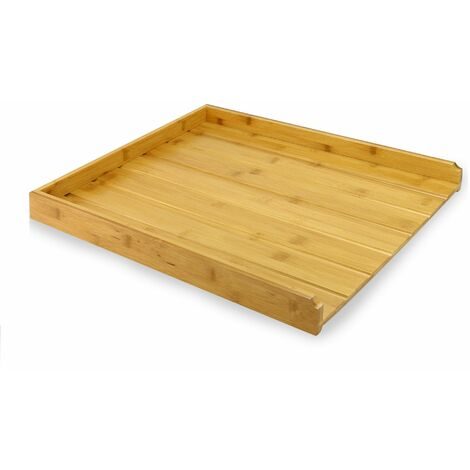 Bamboo Draining Board | M&W - Natural