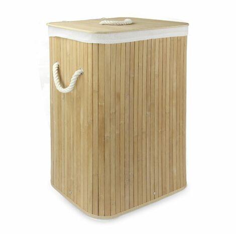 Bamboo Laundry Basket   M&W