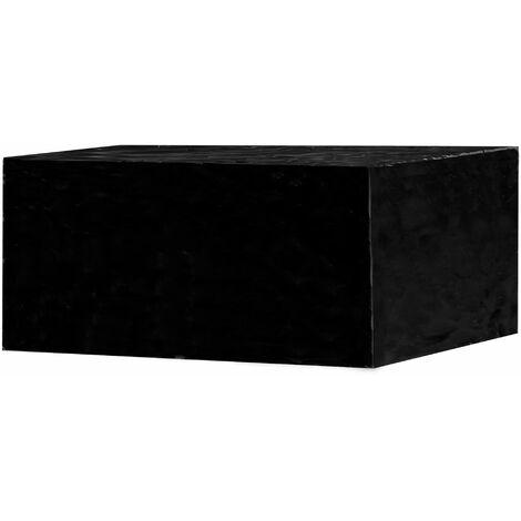 Garden Furniture Cover Rectangle | M&W - Black