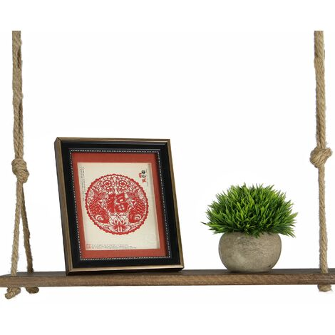 Wooden Hanging Shelf | M&W 1 Tier