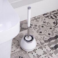 Soft Bristle Toilet Brush   M&W - White