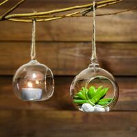 Hanging Tealight Candle Holders | M&W