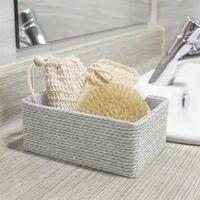 Paper & Cotton Closet Storage Boxes - Set of 4 White | M&W - Green