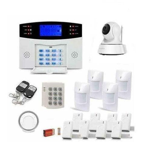 Alarme maison sans fil gsm et caméra ip wifi
