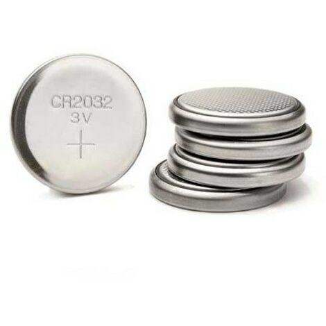 Piles Cr2032 3v (2 Lots De 5 Unités)