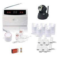 Kit alarme de maison, 32 zones xxl box et camera ip