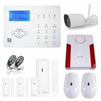 Alarme maison sans fil revolution avec caméra wifi