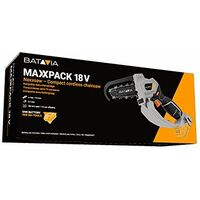 Batavia Maxxpack Collection 18V Nexxsaw Cordless Compact Chainsaw Pruning Saw Set (including battery)