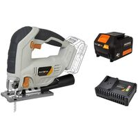 Batavia Cordless Jig Saw Bundle with 4.0Ah Battery and 4.0Ah Quickcharger