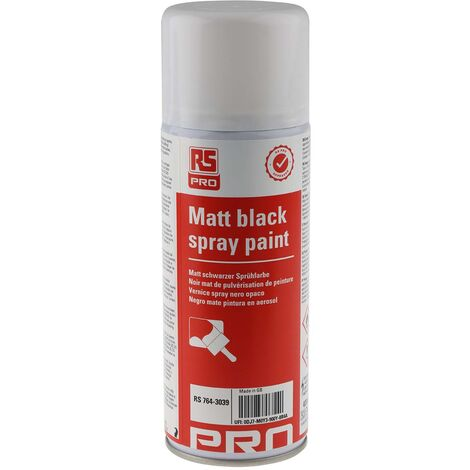 Matt black spray paint 400ml
