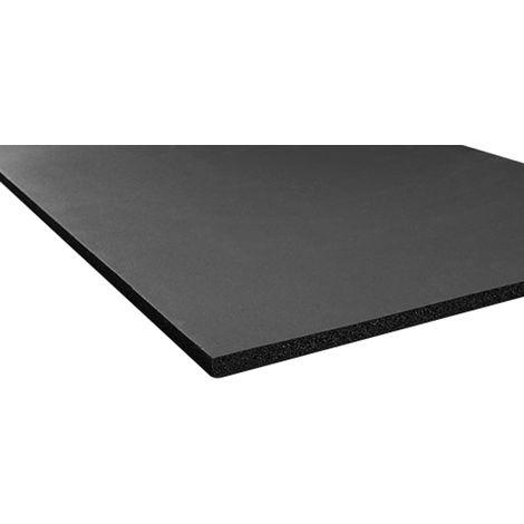 Isolation de réservoir Caoutchouc nitrile Noir, 2m x 500mm x 10mm