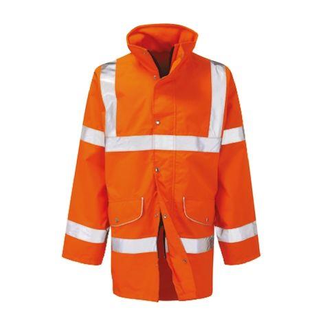 Veste haute visibilité Orange en Polyester, Homme RS PRO, taille L