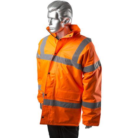 Veste haute visibilité Orange en Polyester, Homme RS PRO, taille XXL