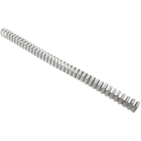 Goulotte de câblage, Gris en Plastique, Flexible, 30 mm x 30mm 500mm