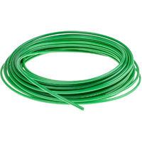 Tuyau pneumatique, Vert, Diam.ext 6mm, en Nylon, 16 bars