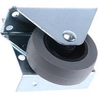 Roulette Pivotant avec frein Caoutchouc 50mm, 20kg