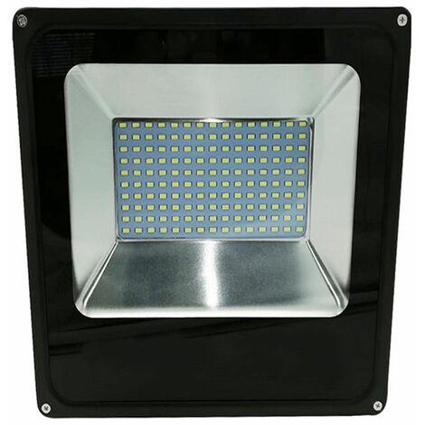 SYTUAM Faretto LED Esterno 50W,72LED Faro LED Impermeabili IP66 Maschera in vetro temperato 6000K luce bianca,Bellissimo luci esterne per Giardino,Corridoio,Casa,Illuminazione Interna ed Esterna