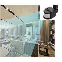 Sensore pir infrarossi faro luce led lampade antifurti videosorveglianza casa