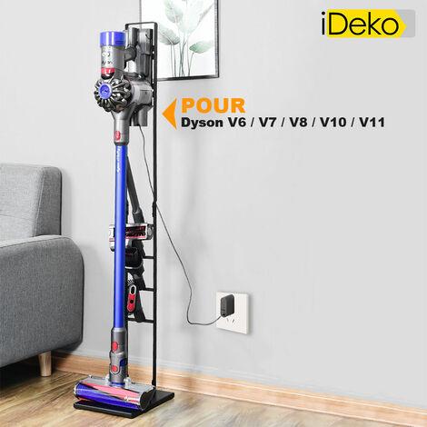 iDeko® Support d'aspirateur Dyson stable stockage rangement compatible V6 V7 V8 V10 V11