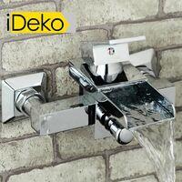 iDeko® Robinet Mitigeur cascade de douche baignoire